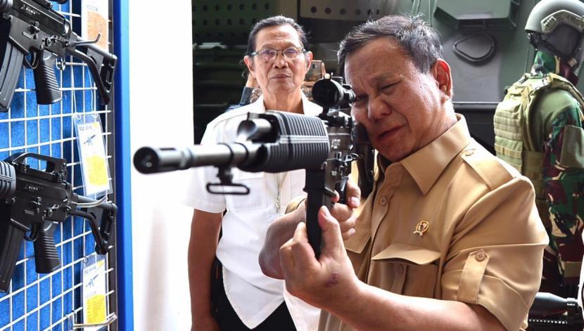 Menteri Pertahanan (Menhan) Letjen (Purn) Prabowo Subianto