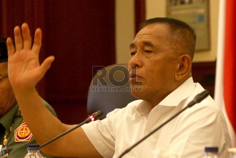 Menteri Pertahanan Ryamizard Ryacudu.