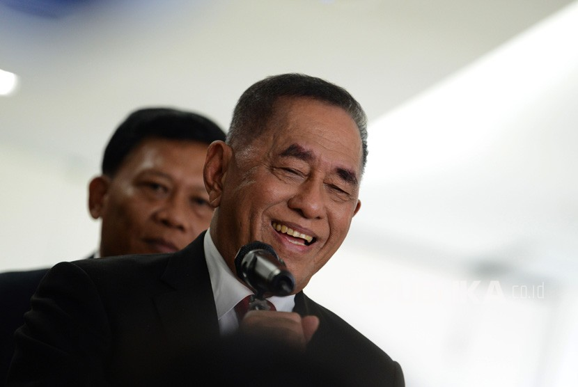 Indonesian Defense Minister Ryamizard Ryacudu.