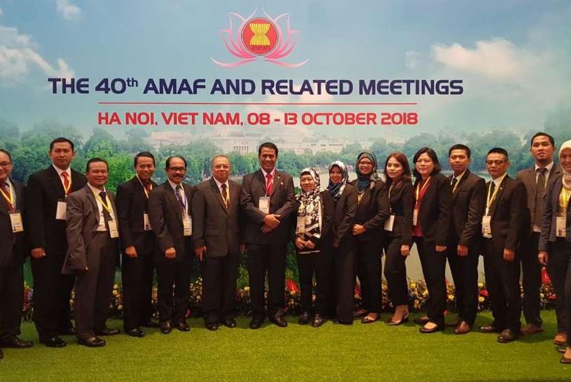 Menteri Pertanian Amran Sulaiman melakukan kunjungan kerja ke Taiwan dan bertemu Menteri Pertanian Taiwan, Tsung-Hsien Lin, 9 Oktober 2018