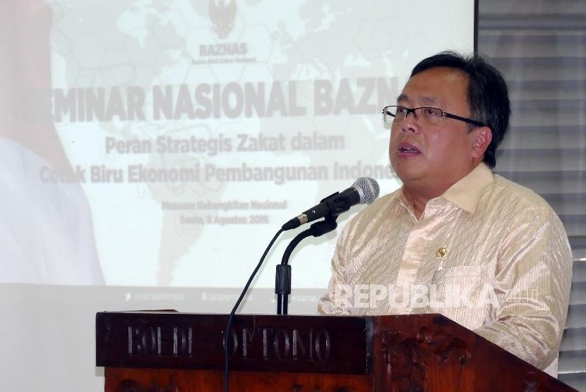 Menteri PPN / Kepala Badan Perencanaan Pembangunan Nasional (BAPPENAS) Bambang Brojonegoro