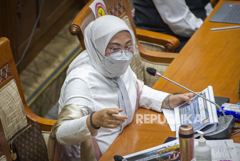 Menteri Tenaga Kerja (Menaker) Ida Fauziyah.