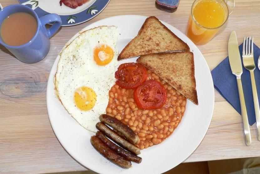Menu sarapan (Ilustrasi)