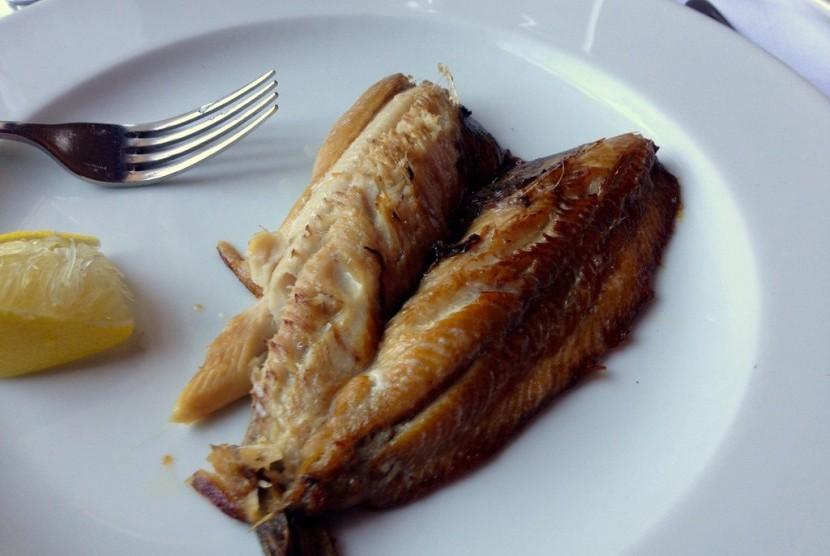 Menu Sarapan. Kipper atau ikan herring kering salah satu menu sarapan yang digemari Richard Branson.
