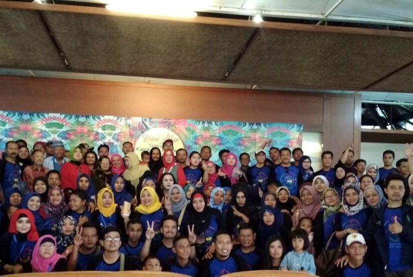 Meriah, Reuni Akbar SMPN 1 Kedung Halang Bogor