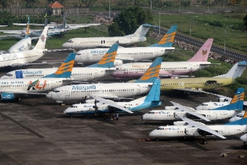 Merpati Airlines.