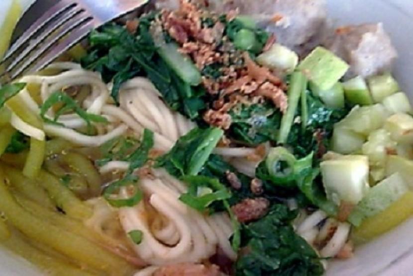 Mie Glosor menjadi makanan favorit di Bogor jelang buka puasa.