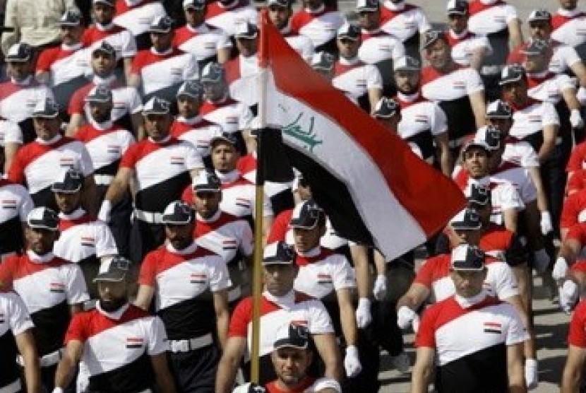 Bendera Irak (ilustrasi)