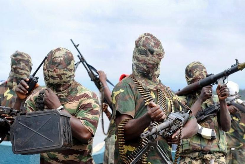 Militan Boko Haram bunuh warga sipil Nigeria.
