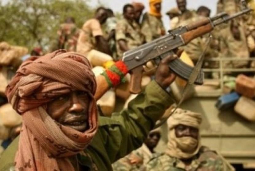 (Ilustrasi) Militer Chad