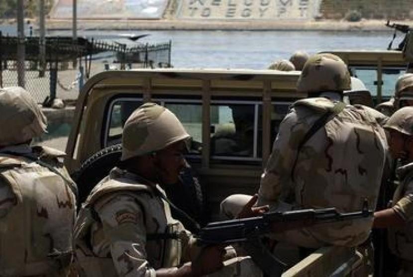 Militer yang tergabung dalam koalisi Arab di Yaman. (ilustrasi).