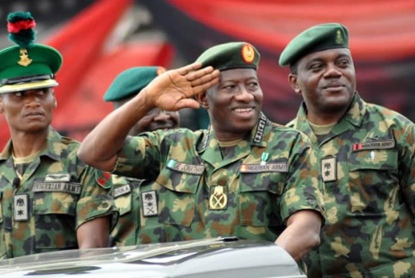 Militer Nigeria (ilustrasi)