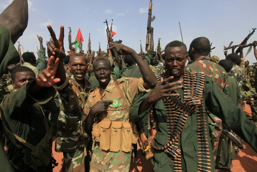Militer Sudan (ilustrasi)