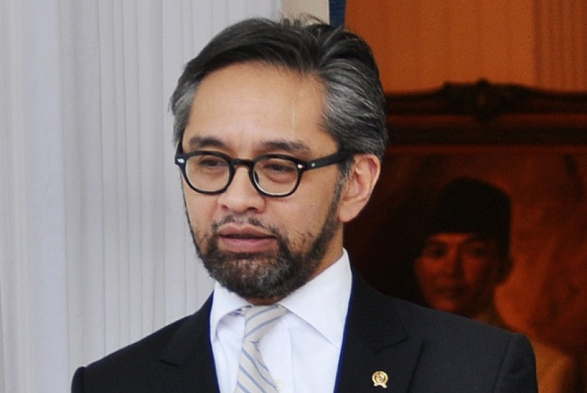 Minister of Foreign Affairs Marty Natalegawa
