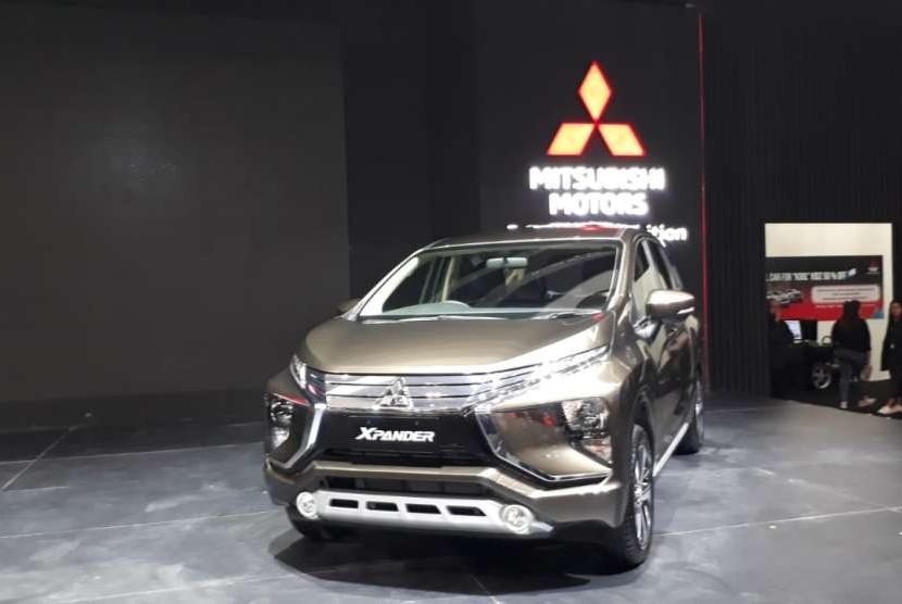 Mitsubishi menghadirkan  penambahan varian baru, Xpander Sport M/T dan Xpander GLS A/T dalam pameran GIIAS, di Indonesia Convention Exhibition (ICE) BSD City, Tangerang, Kamis (2/8).