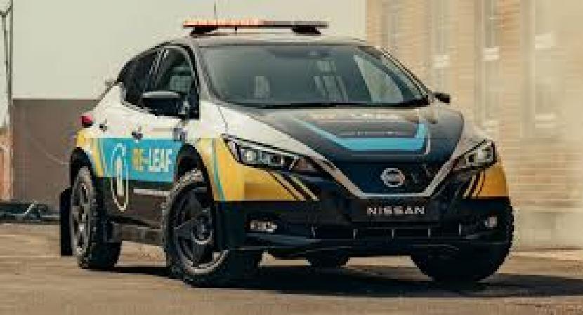 Mobil listrik Nissan untuk siaga bencana.