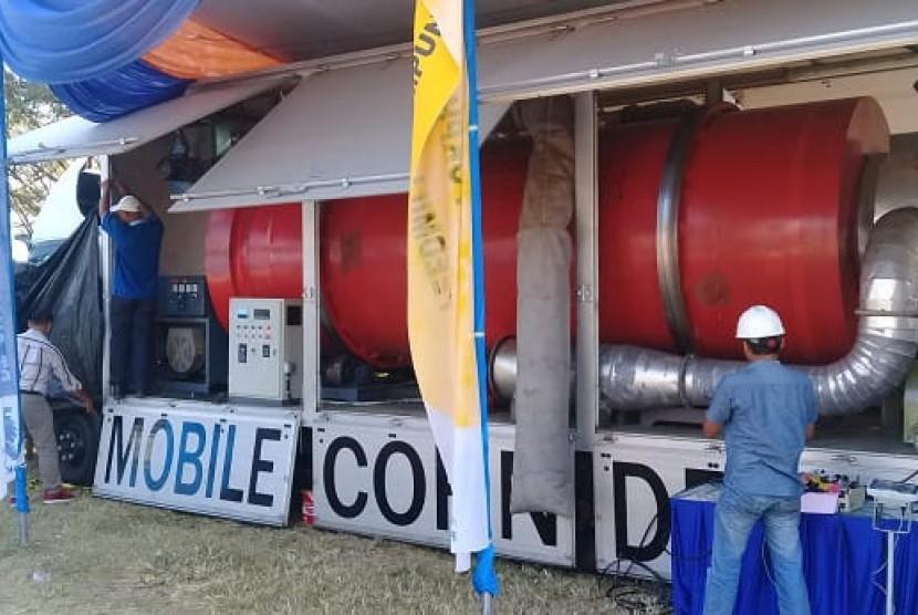 Mobil pengering jagung hasil kerja sama Kementan dan PT CPI