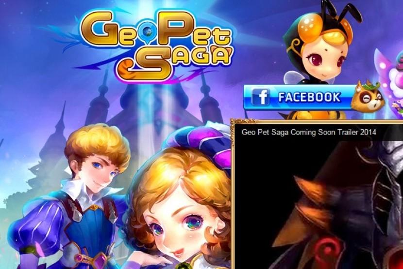 Mobile Game 'Geo Pet Saga'