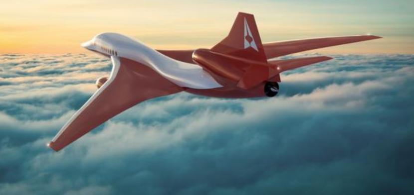 Model jet AS2 rancangan perusahaan Aerion