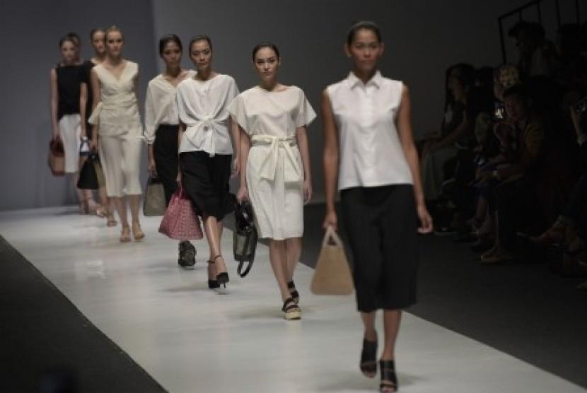 Jakarta Fashion Week (JFW). Ilustrasi.