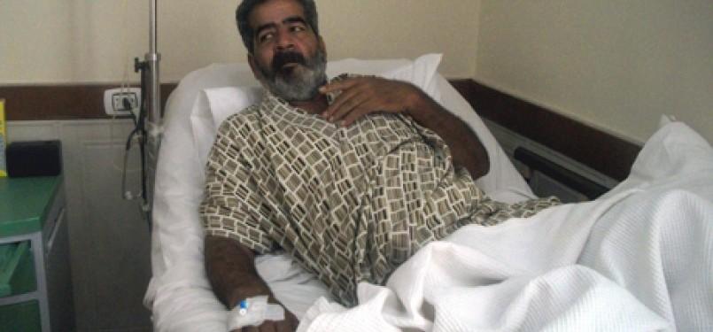 Muhammad Bishr ketika ditemui di rumah sakit di Alexandria, Kairo.