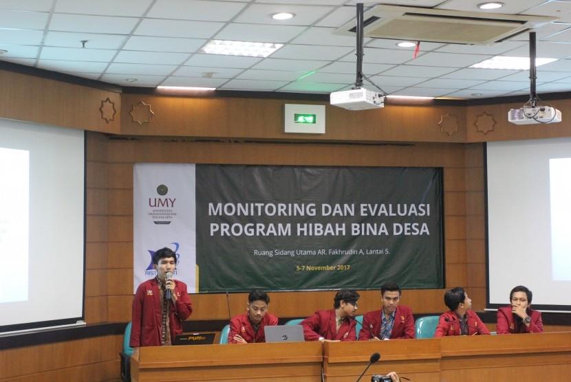 Monitoring dan Evaluasi Program Hibah Bina Desa (PHBD).