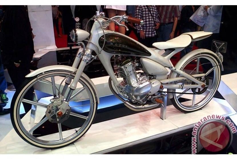 Konsep Retro Modern Yamaha Diilhami Sepeda Onthel Republika Online
