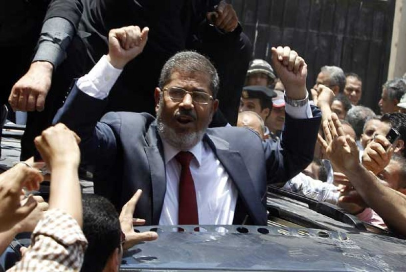 Muhammad Mursi terpilih sebagai presiden Mesir yang baru.