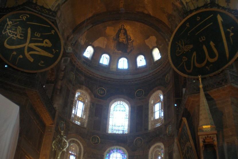 Museum Ayasofya, Istanbul, Turki.