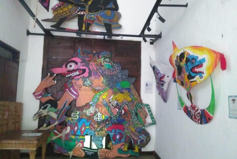 Museum Layang-layang di Jalan Haji Kamang, Cilandak, Kota Jakarta Selatan, Selasa (25/6).