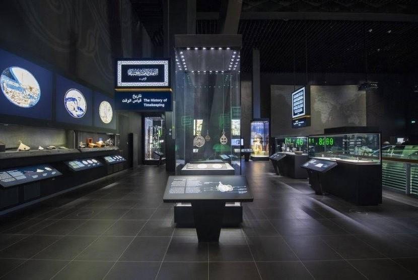 Museum menara jam di Makkah, Arab Saudi.