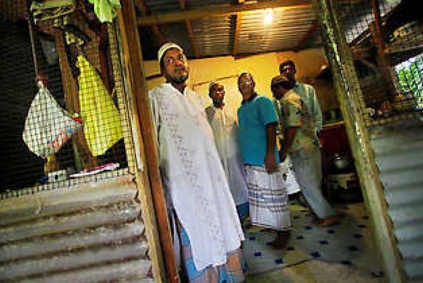 Mushala di Koror, Palau.