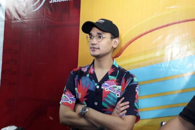 Musisi, Afgan berpartisipasi dalam ajang 100 Hati Untuk Lombok, yang merupakan program donasi on air MRA Media di Jakarta, Jumat (31/8).