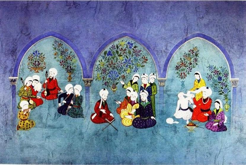 Musisi Muslim telah menjadikan musik sebagai alat pengobatan atau terapi.