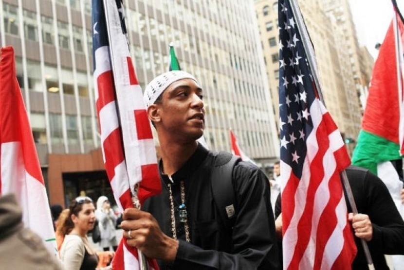 American Muslim.