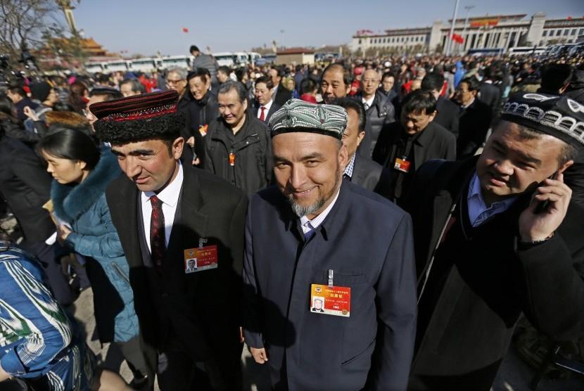 Muslim Cina (ilustrasi)