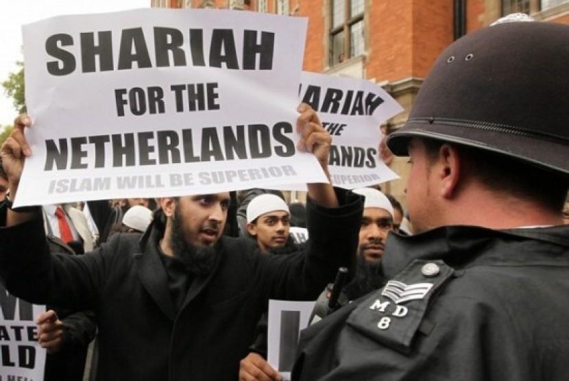 Muslim di Belanda/ilustrasi