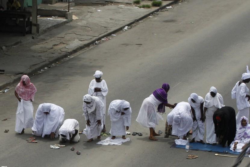 Muslim di Pantai Gading.