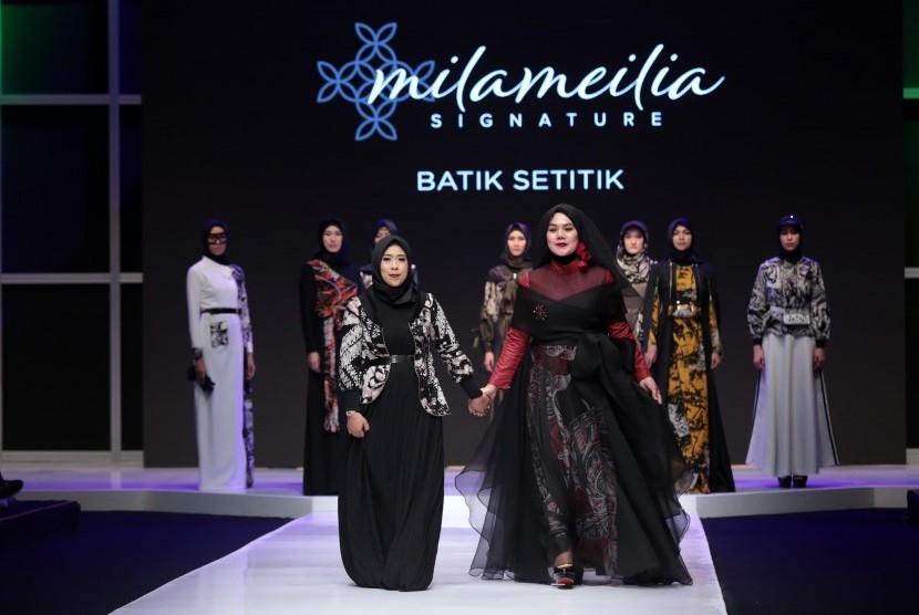 Milameilia Signature Perpaduan Batik Dan Busana Muslim Republika Online