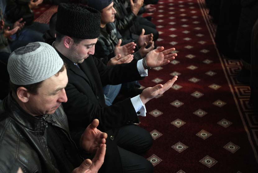 Muslim Rusia (ilustrasi)