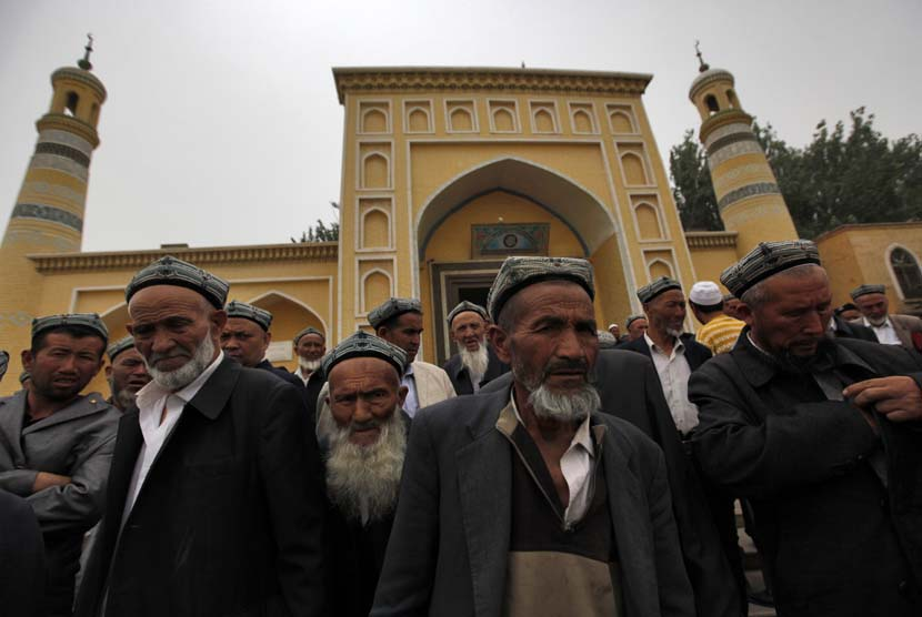 Muslim Uighur di Cina.