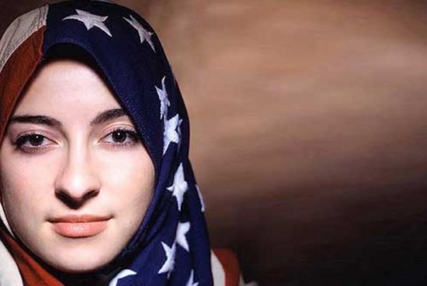 Muslimah Amerika/ilustrasi