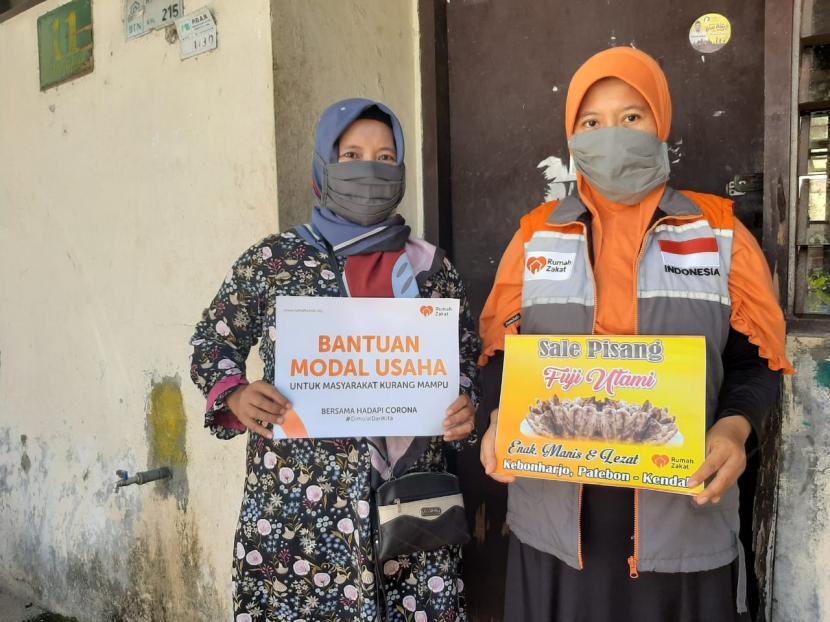 Relawan Rumah Zakat Bantu Dampingi Pengurusan Izin Usaha ...