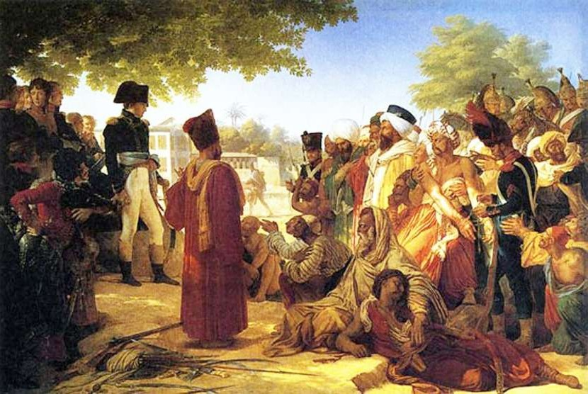 Napoleon saat di Mesir.