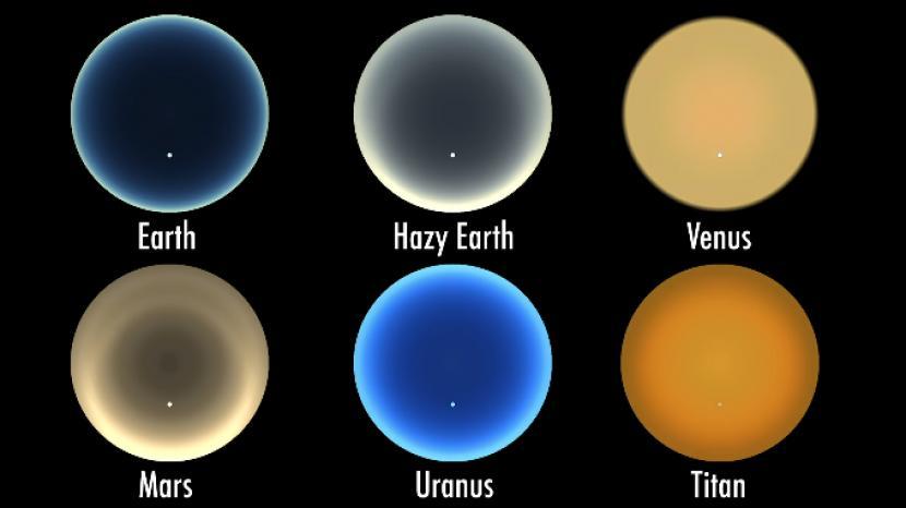 Penampakan Matahari Terbenam Jika Dilihat dari Planet Lain