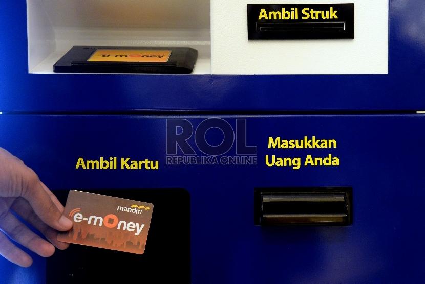 Kartu E Money Jak Lingko Mandiri Pastikan Top Up Mudah Republika Online