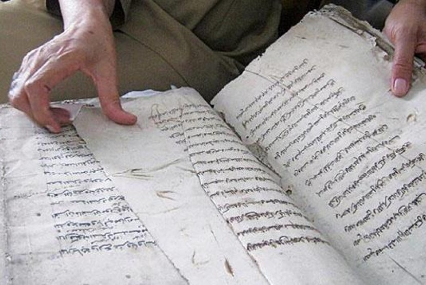 Naskah klasik Islam Nusantara (ilustrasi).