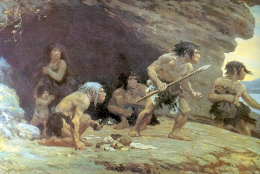 Neanderthal adalah spesies atau subspesies manusia purba yang punah dalam genus Homo.