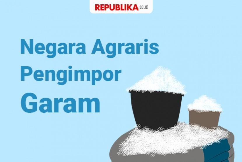 Negara agraris pengimpor garam