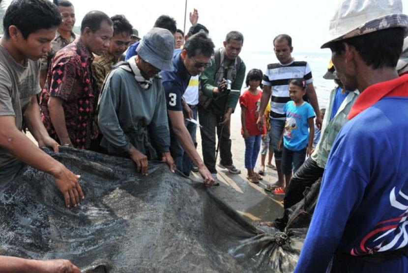 Nelayan di Pesisir Selatan Sumbar
